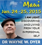 I AM LIGHT: Discovering and Living from Your Impersonal Self, January 24-25, 2015 in Maui