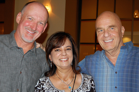 Reid Tracy, Anita Moorjani and Dr. Wayne W. Dyer